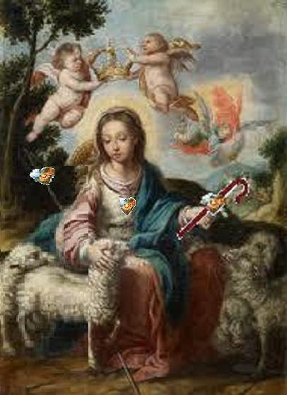 shepherdesswithheartstaff