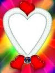 shiningheartpictureframe