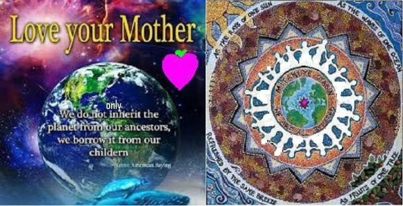 loveyourmotherchildrenweareallrelated