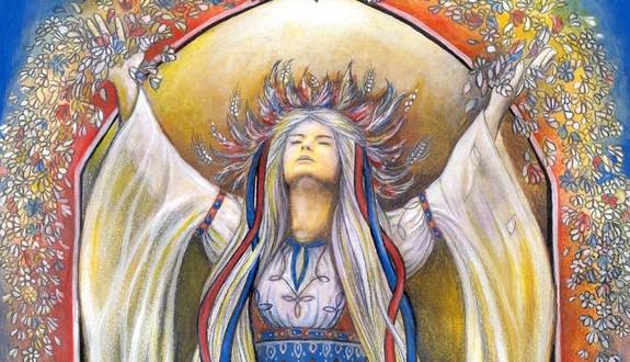 Slavic-Goddess-Vesna-