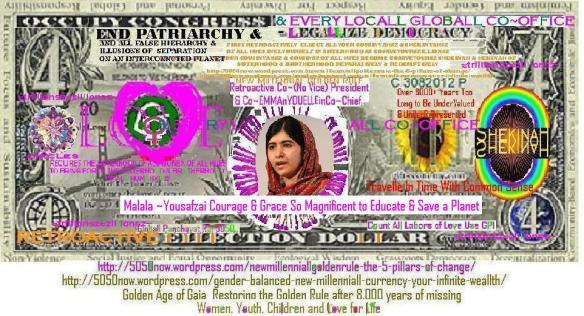Malala ~Yousafzai CoSecretary Generall