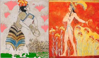 minoan-woman-szaffron