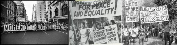 women of the world unite banner