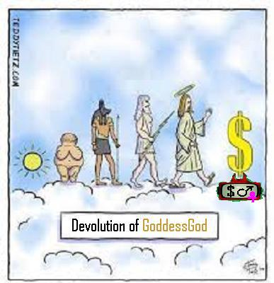 devolution of GoddessGod