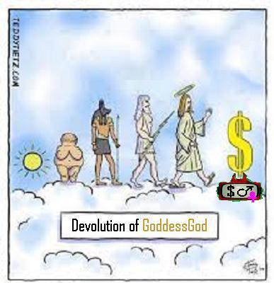 devolution of GoddessGod