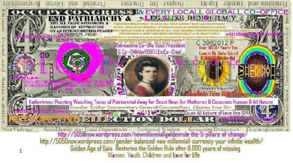 Elleiszabeth ~Timothye Coszecretary Generallsz Coszaviorasz Riszen Beyond Patriarchy & Raciszm