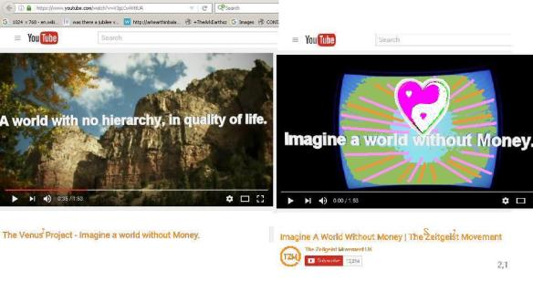 Imagine A World Without Money Venusz Project