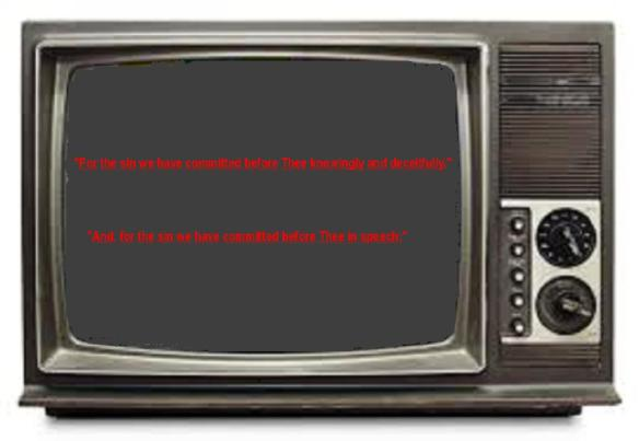 television screen 6