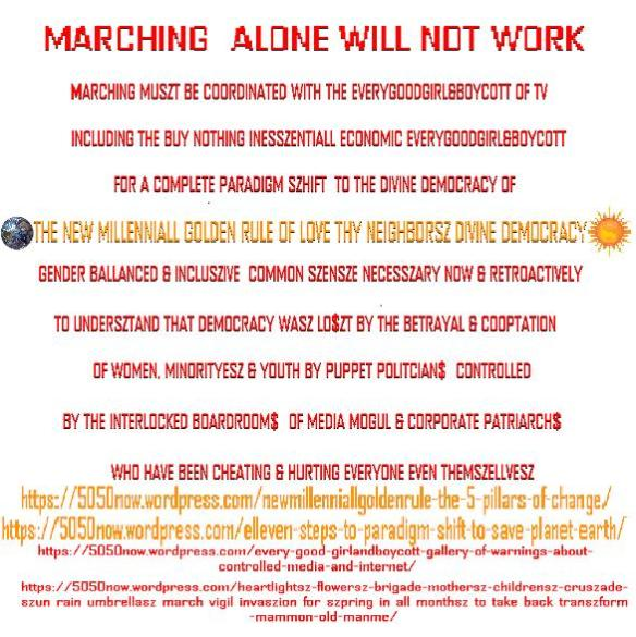 marchingalonewillnotwork