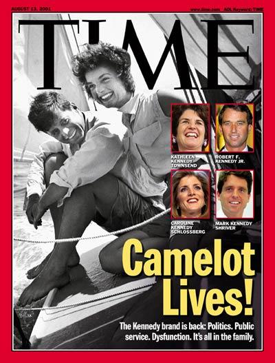 Camelot Livesz! Time Magazine