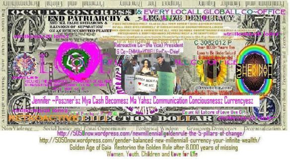 Jennifer~Pozner MyaCash Becomesz Ma Yah Communicationsz Consciousnessz Currencyesz