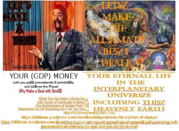 letsz make Not a deal with Devil but a deall with Devisz