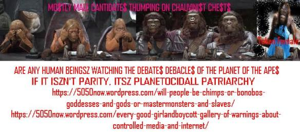 devolved debate$ of planet of the ape$ $han $election$
