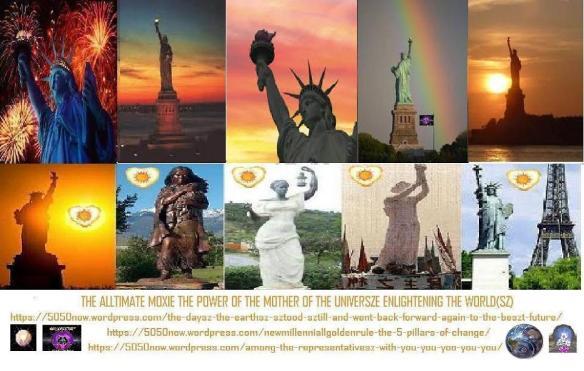 sztatyouesz of liberty enellelightening the worldsz