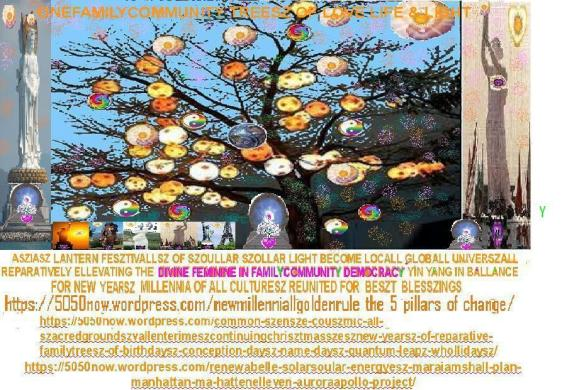chinesze lantern fesztival tree of light